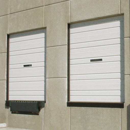 4402 Commercial Industrial Steel Ribbed Doors