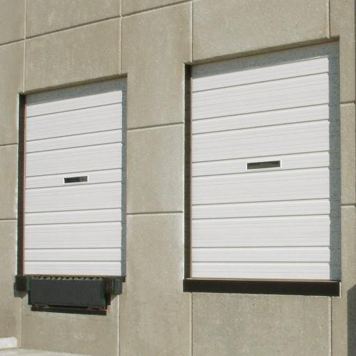 4402 Commercial Industrial Steel Ribbed Doors